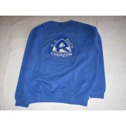Bluza niebieska z herbem -...