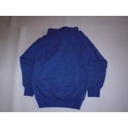 Bluza niebieska z kapturem...