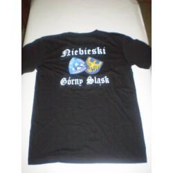 T-Shirt czarna GÓRNY ŚLĄSK...