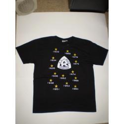 T-Shirt czarna - Ruch Chorzów