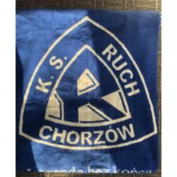 Koc z logo Ruch Chorzów