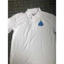Koszulka polo biała z logo...