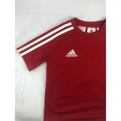 T-shirt Adidas kids czerwona