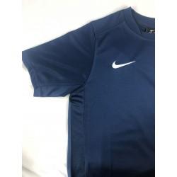 T-shirt Nike junior granatowa